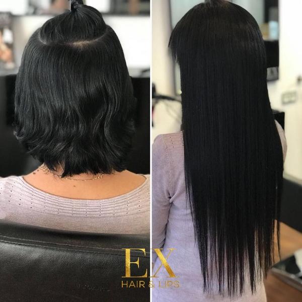 EX HAIR LIPS Haarverlängerung 2