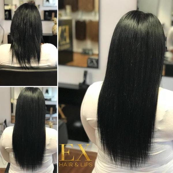 EX Hair Lips Haarverlängerung