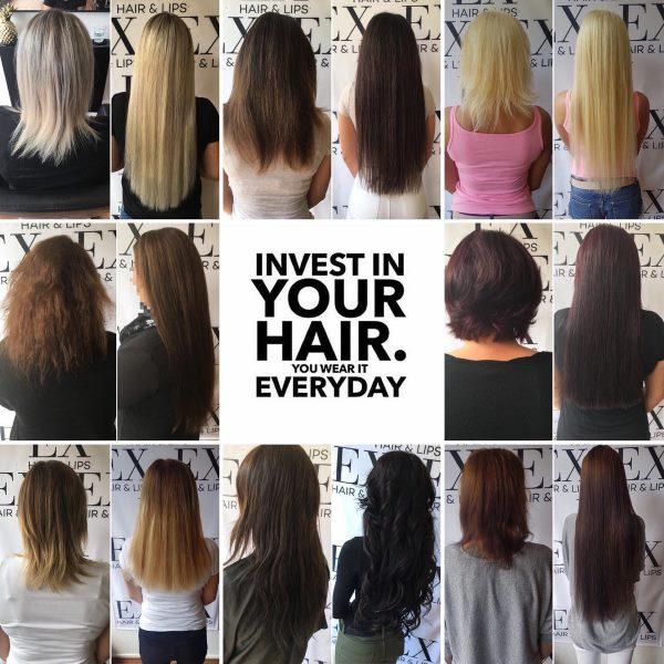 EX HAIR LIPS - Haarverlängerung in Köln 24